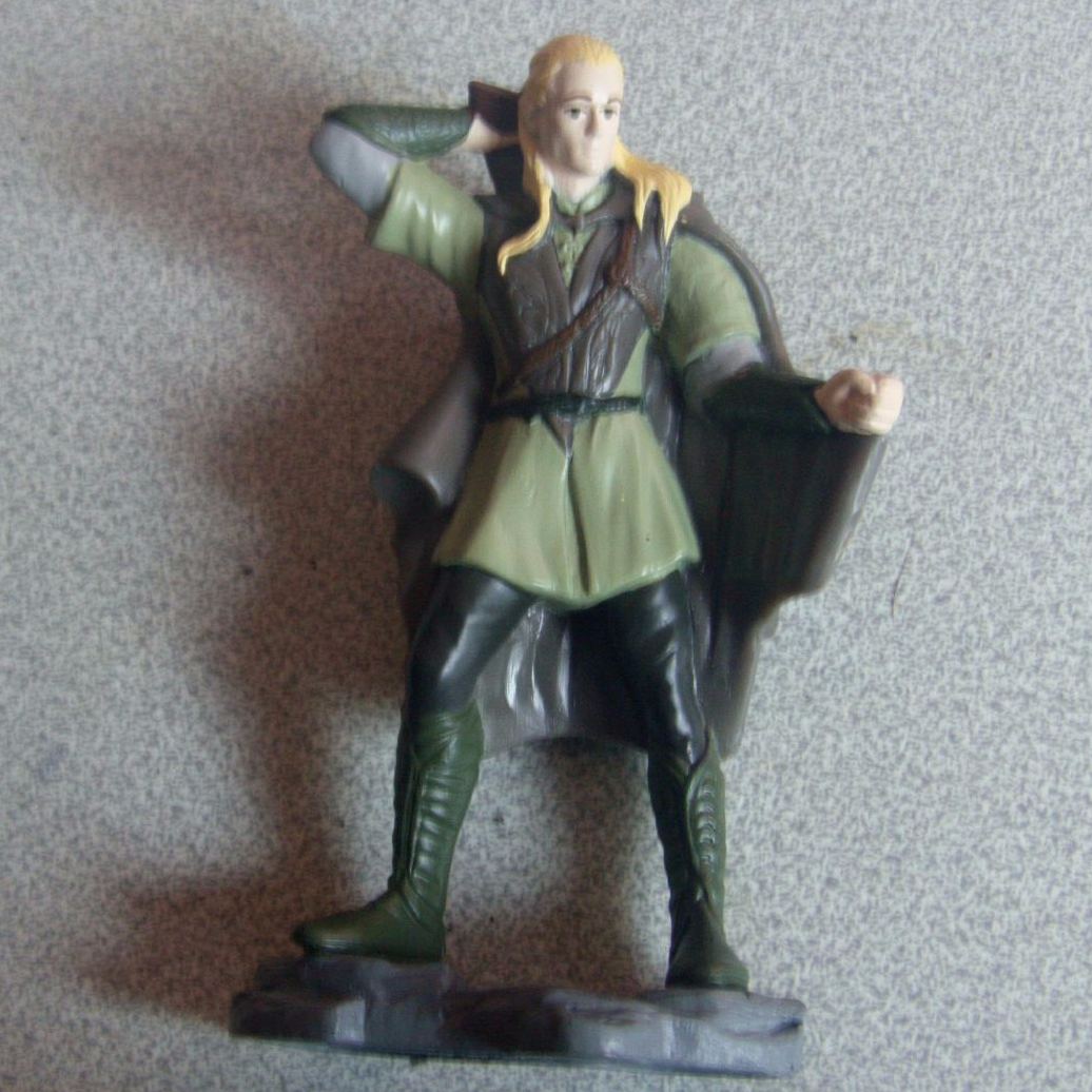 Burger King 2001 Lord Of The Rings Legolas Figure