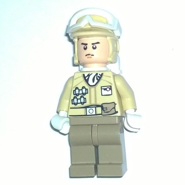 Lego Star Wars Hoth Rebel Officer New From Retired Set 8083