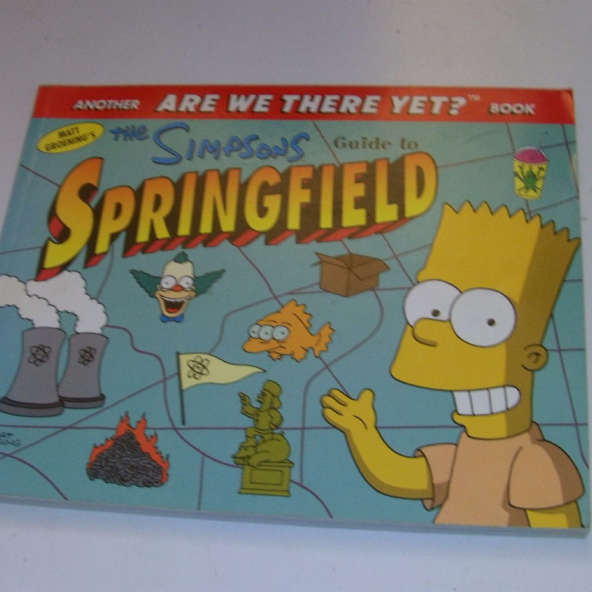 the simpsons guide to springfield are we there yet book rh eterniacollectables co uk Simpsons Springfield Statue The Simpsons Springfield Elementary School